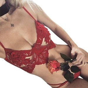For Love and Lemons Ruby Lace Bra